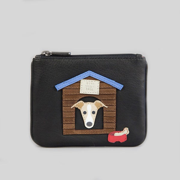 Leather Puppy Purse