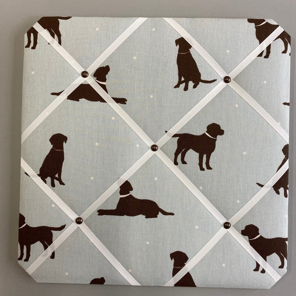 Dog Silhouette Noticeboard Stone