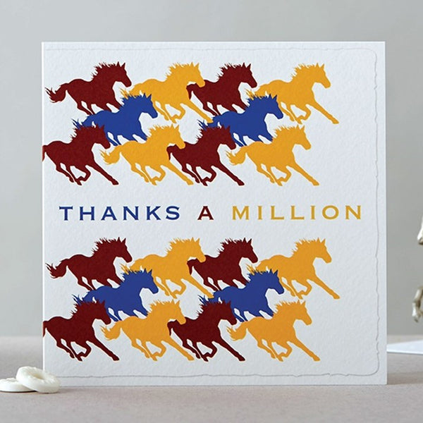 Herd of Horses Thanks A Million Card