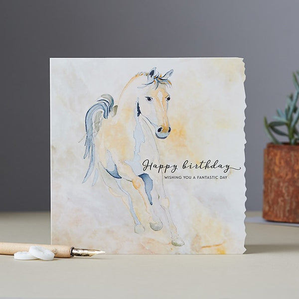 'Fantastic Day' Horse Birthday Card