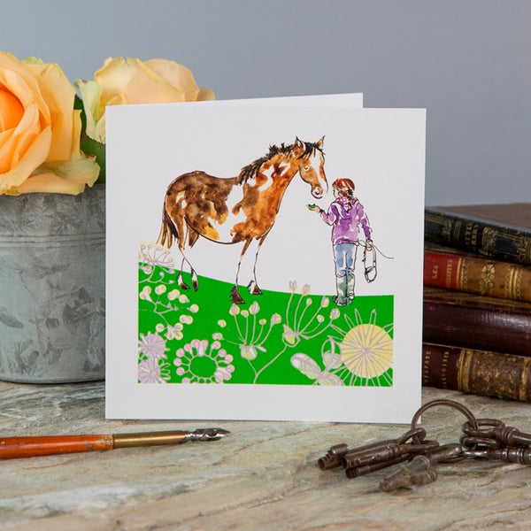 'Pony Treats' Greeting Card