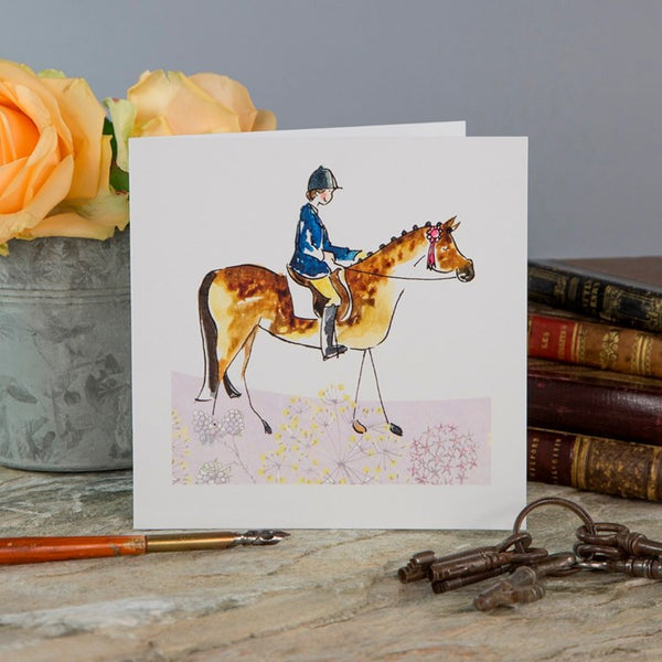'In The Ribbons' Greeting Card
