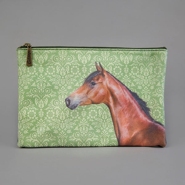 Large Horse Zip Washbag Horse Rider Gift