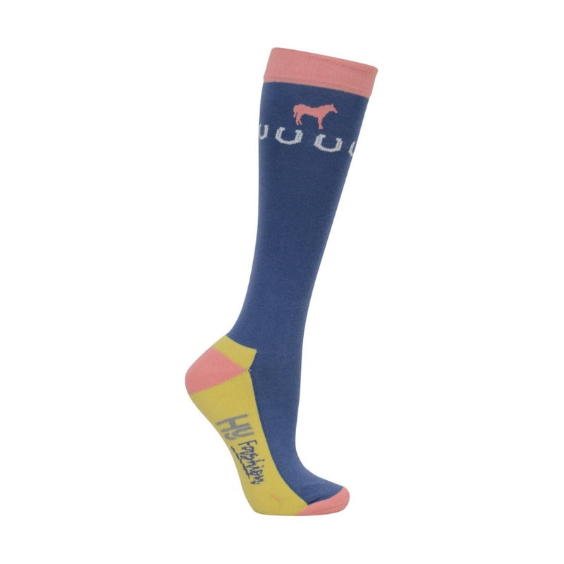 Horse Print Riding Socks - pack 3