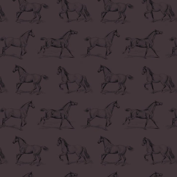 Vintage Horses Wrapping Paper