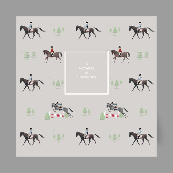 Pack of 8 Sophie Allport Horses Notelets