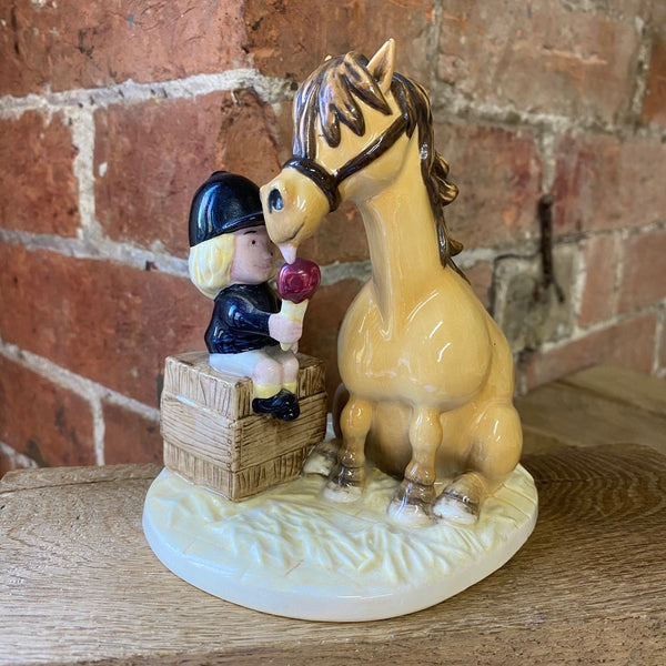 "Thelwell Porcelain ""Ice Cream Treat"" figurine"