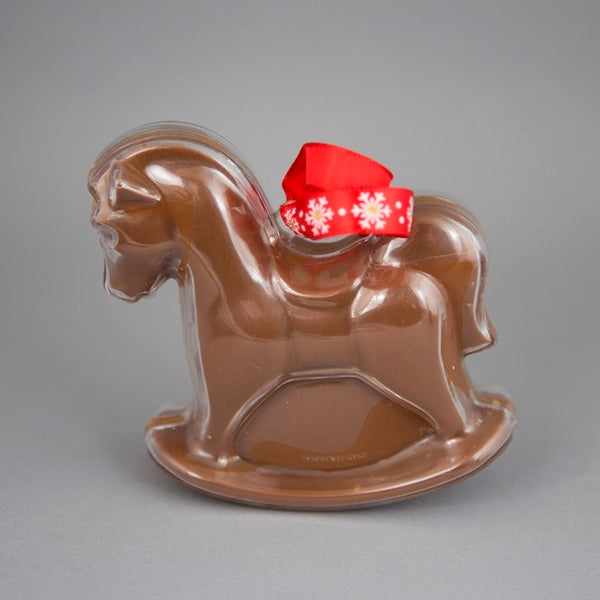 Belgian Milk Chocolate Rocking Horse Gift