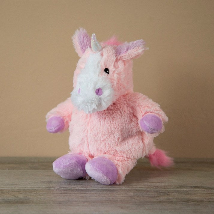 Lavender Scented Pink Unicorn Hottie Cuddly Toy