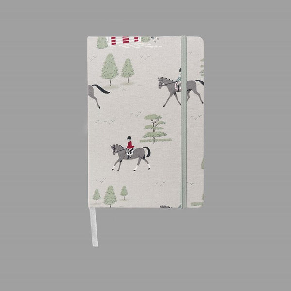 Horses Fabric Notebook