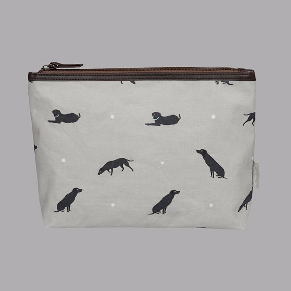 Sophie Allport Labrador Washbag/Pencil Case with zip top