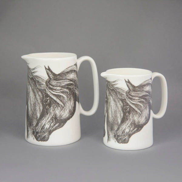 Bone China Horse Jug