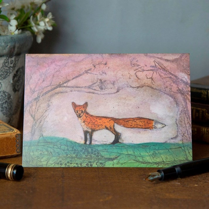 'Summer Fox' Greeting Card