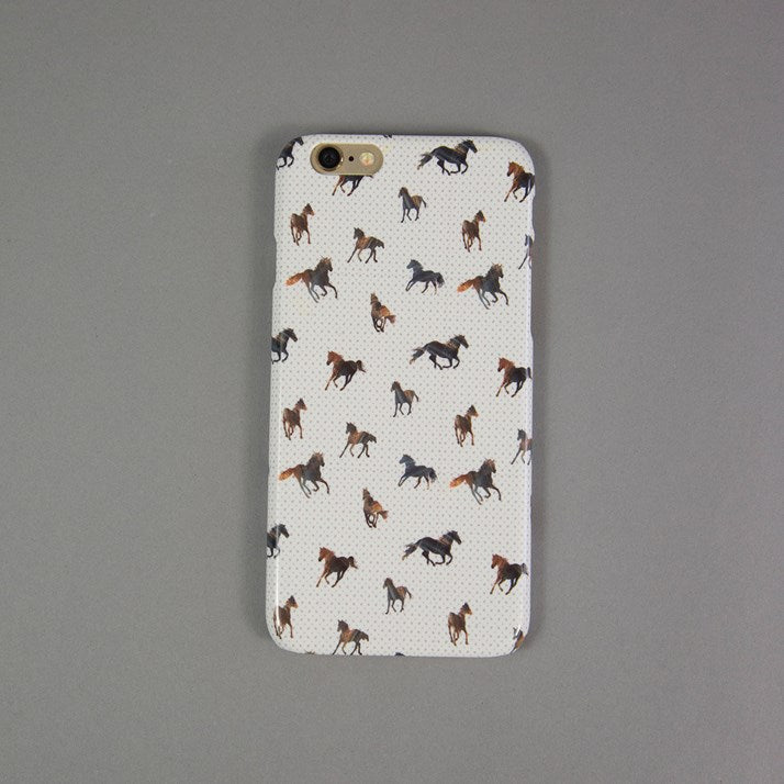 Galloping Horses Spotty Phone Case