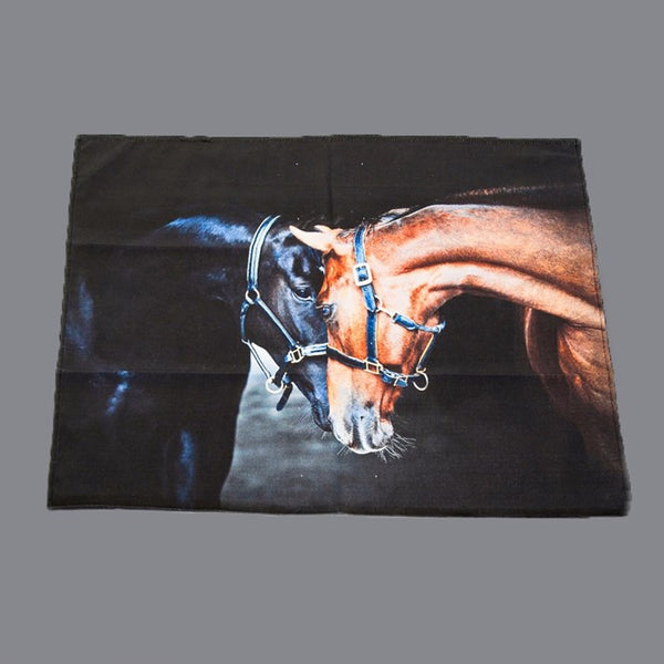 Old Friends Horses Tea Towel