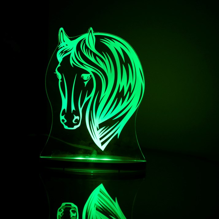 Horse Night Light Horsey Gift