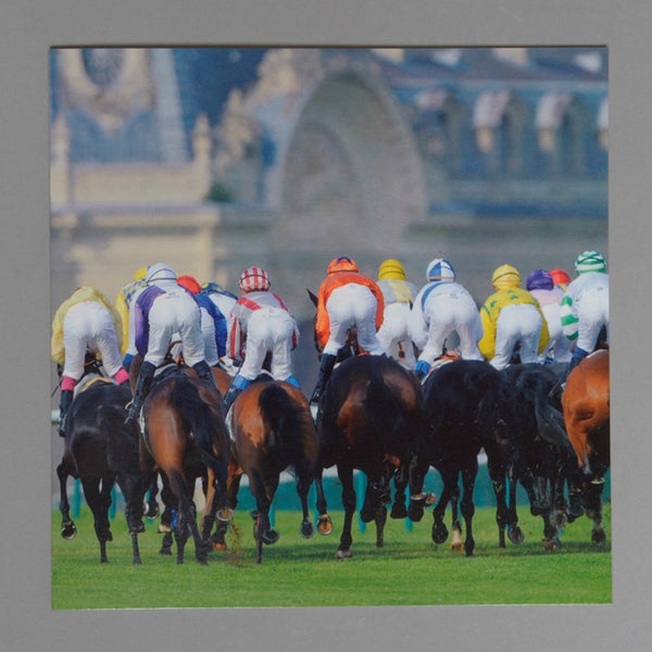 Chantilly Racing Greeting Card