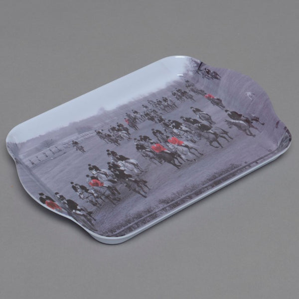 Black and white 'The Field' Trinket Tray