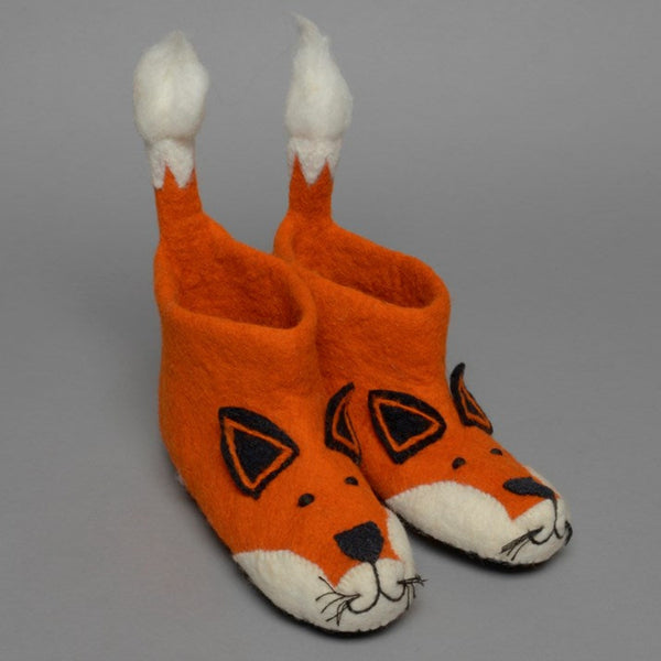 Finlay Fox Adult Felt Slippers