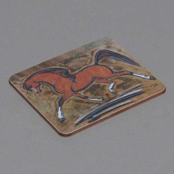 Bay Horse Drinks Coaster