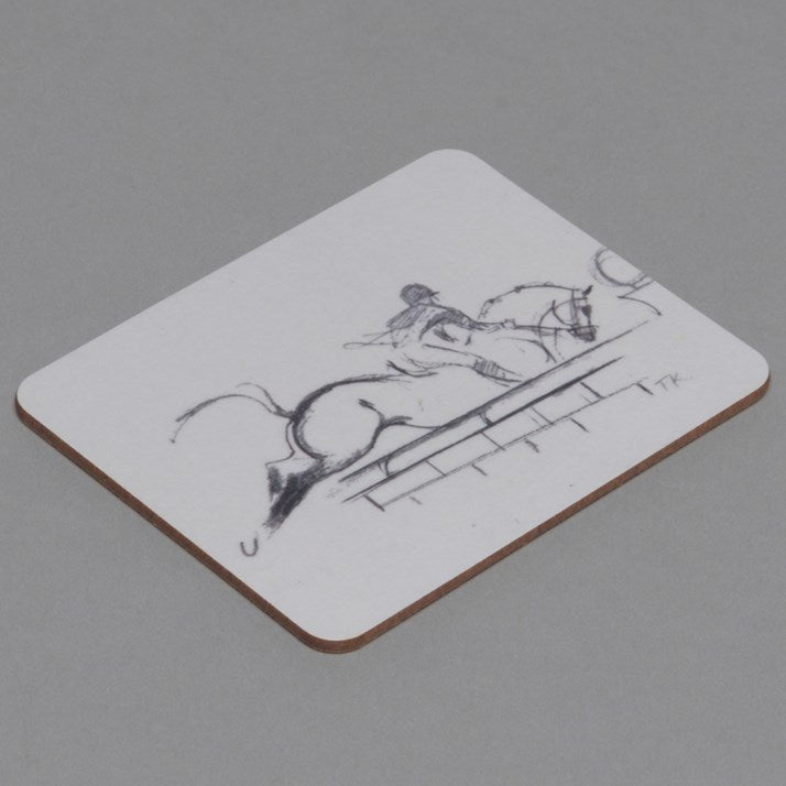 Showjumping Drinks Coaster