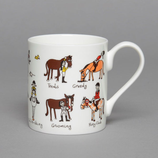 Fine Bone China Pony Club Mug