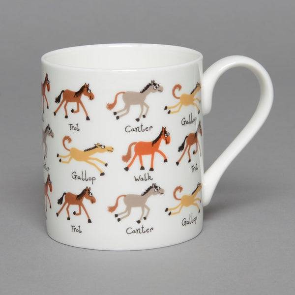 Fine Bone China New Ponies Mug