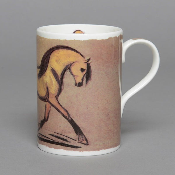 Bone China Dun Horse Mug