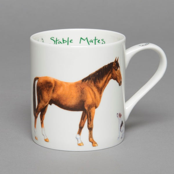 Fine Bone China 'Stable Mates'  Horse Mug