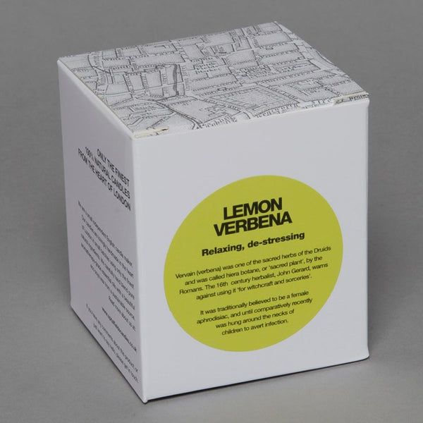 Lemon Verbena Spitalfields Natural Candle