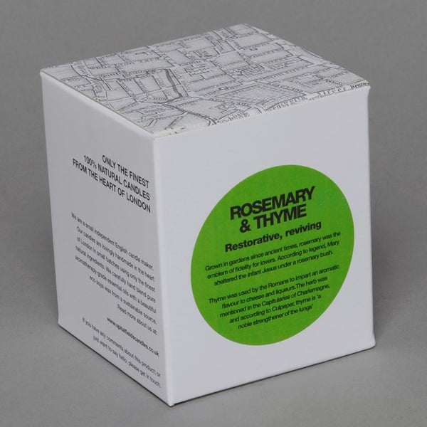 Rosemary & Thyme Spitalfields Natural Candle