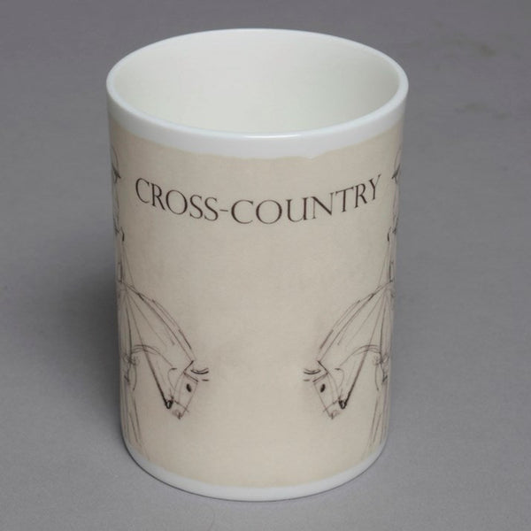 Bone China Cross Country Mug