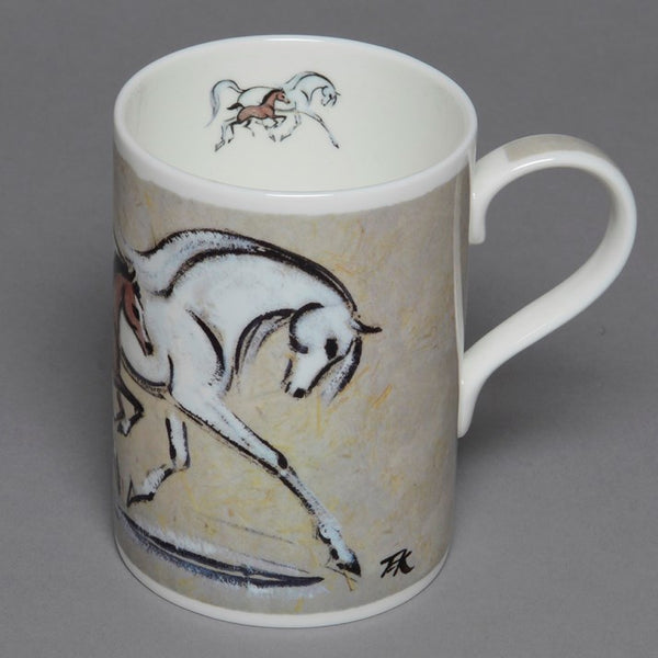 Bone China Mare and Foal Mug