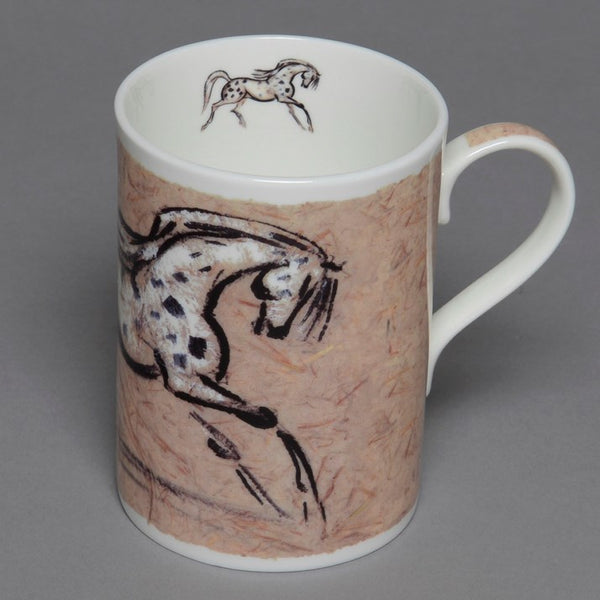 Bone China Appaloosa Horse Mug