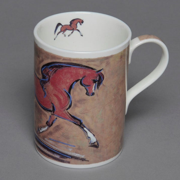 Bone China Bay Horse Mug