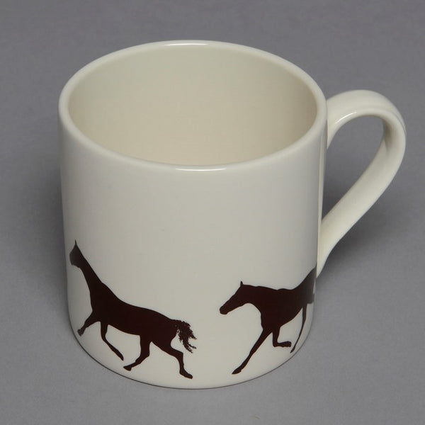Loose Horse Hand-Painted Ceramic Mug