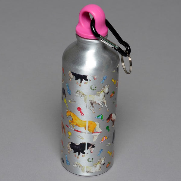 Horsies Metal Drinks Bottle Pony Gift