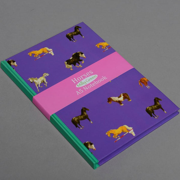 Horsies Notebook Pony Gift