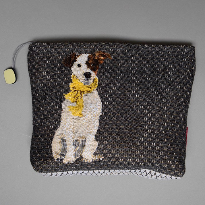 Terrier Tapestry Make-Up Bag