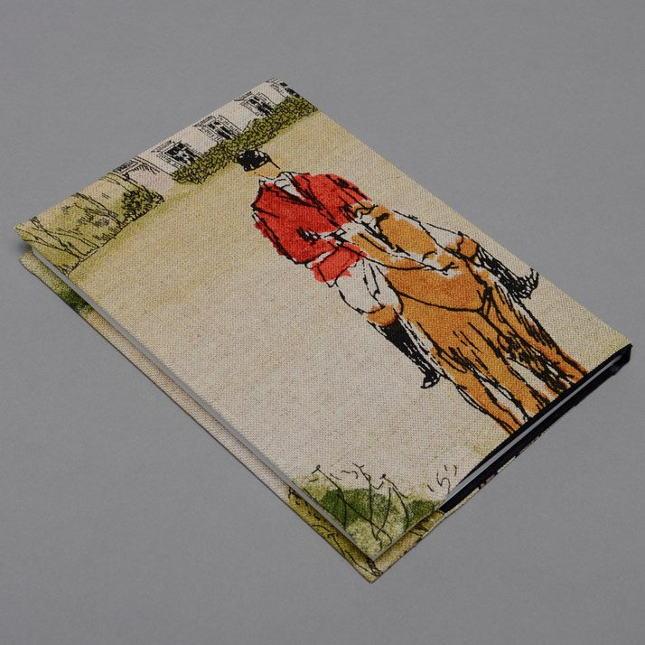 Hand-Made Hunting Print Notebook