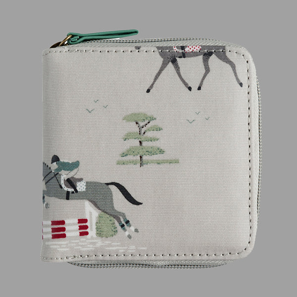 Horses Kids Zip Wallet Gift