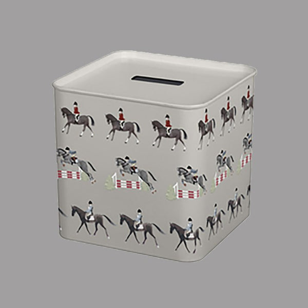 Horses Metal Money Box