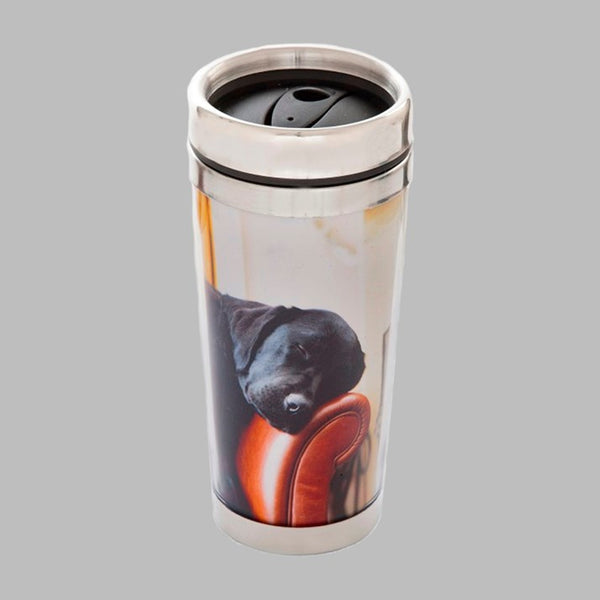 Sleeping Labrador Thermal Beaker