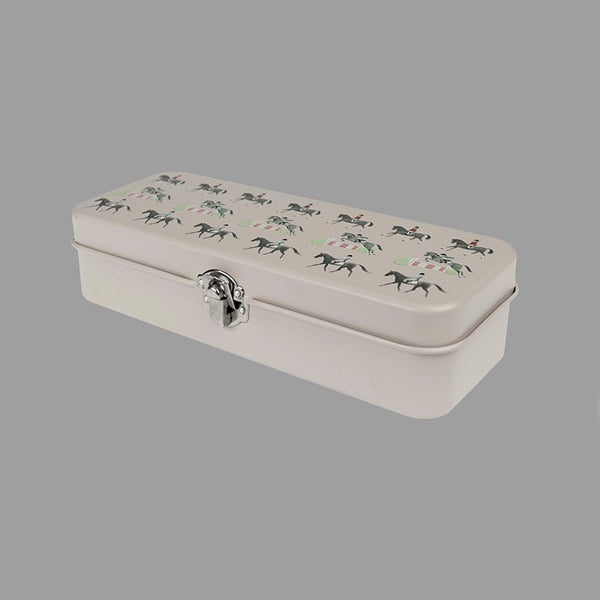 Sophie Allport Horses Print Pencil Tin