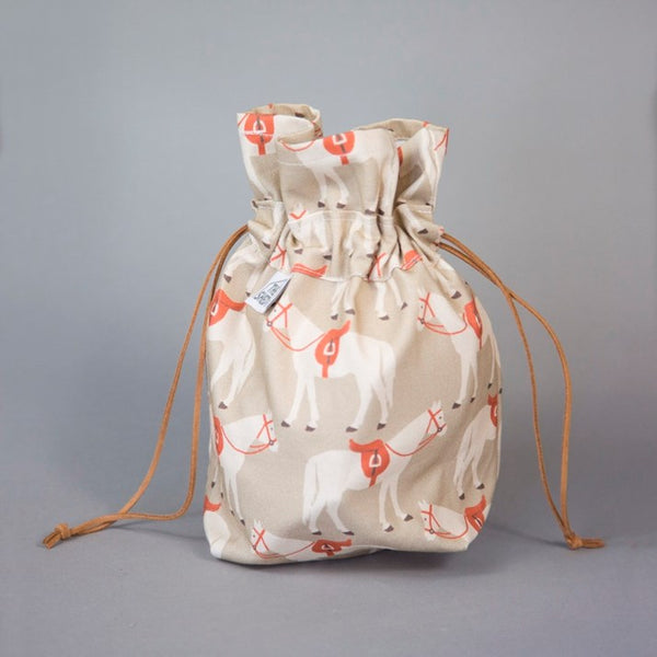The Gifted Horse Drawstring Treat Bag