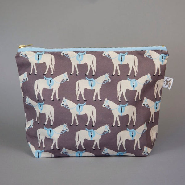 Gifted Horse Large Washbag - Clay