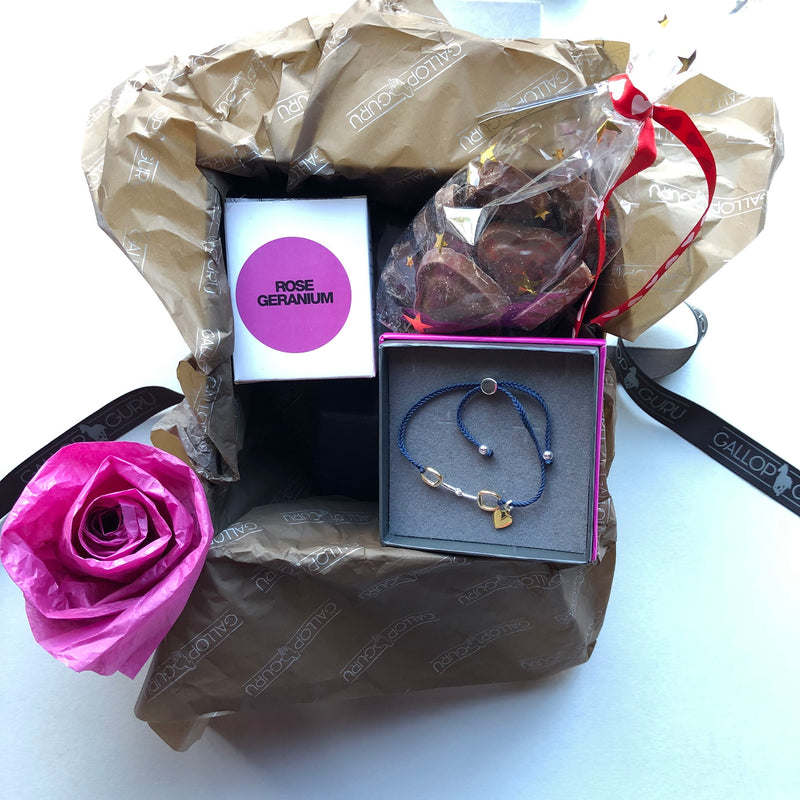 Love Heart Snaffle Valentines Gift Box