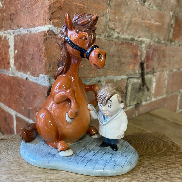 "Thelwell Porcelain ""Detecting Ailments"" figurine"
