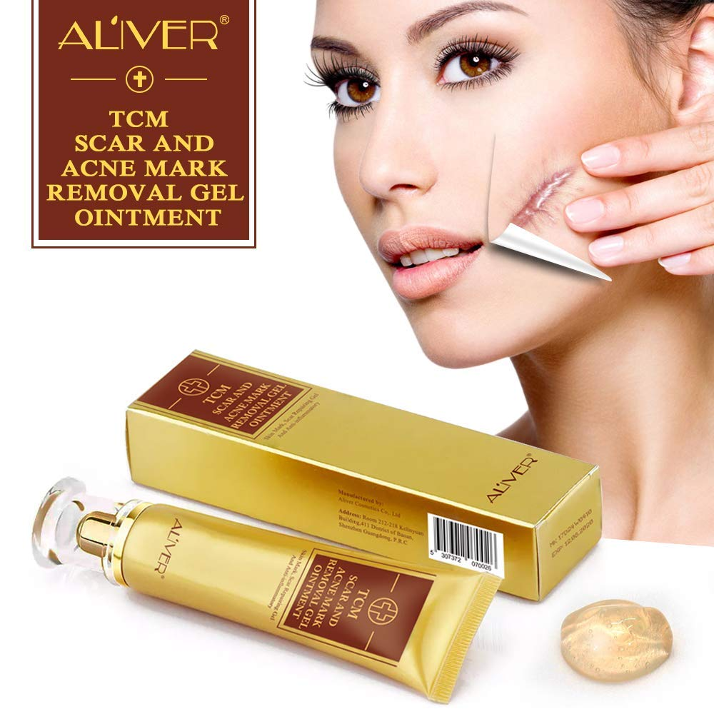 Aliver Tcm Scar And Acne Marks Removal Cream Jackmans Europe