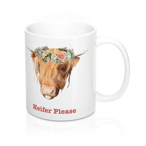 Heifer Please - mug